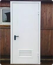 Противопожарные двери для ТП