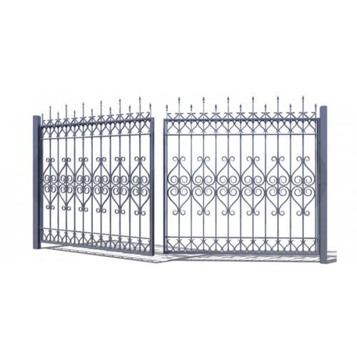 Ворота кованные №20