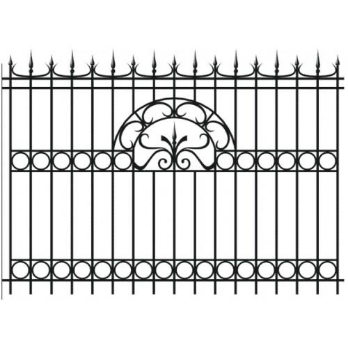Забор кованный № 1
