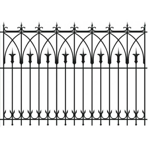 Забор кованный № 2
