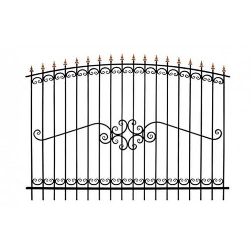 Забор кованный № 7